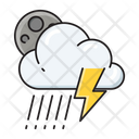 Cloud Storm Thunder Icon