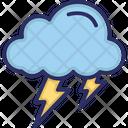 Cloud Thunder Bolt Icon