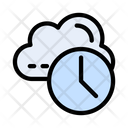 Cloud Time Icon