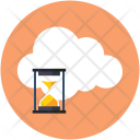 Cloud timeout Icon