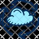 Cloud Data Traffic Icon