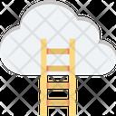 Cloud Computing Cloud Traffic Internet Traffic Icon