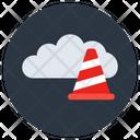 Cloud Traffic Cloud Hosting Internet Traffic Icon