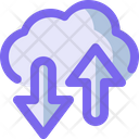 Cloud Transfer Icon