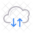 Upload Download Cloud Icon