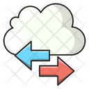 Cloud Transfer Exchange Icon