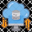 Big Data Data Transfer Icon