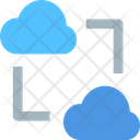 M Cloud Data Transfer Cloud Transfer Data Transfer Data Icon