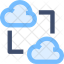 M Cloud Data Transfer Icon