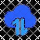 Cloud Transfer Data Icon