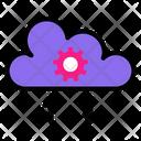 Cloud Transfer Setting Icon