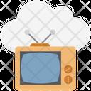 Tv Tv Set Vintage Tv Icon