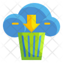 Cloud Trash Cloud Trash Icon