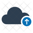 Cloud Data Upload Icon