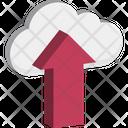 Cloud Upload Cloud Uploading Cloud Data Transmission Icon