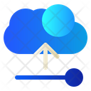 Cloud Data Upload Icon