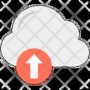 Cloud Upload Uploading Cloud Data Transmission Icon