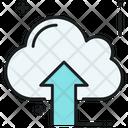 Cloud Upload Cloud Uploading Data Transmission Icon