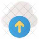 Upload Internet Data Icon