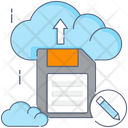 Cloud Upload Cloud Computing Cloud Technology Icon