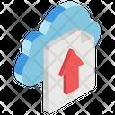 Cloud Upload Cloud Computing Cloud Network Icon