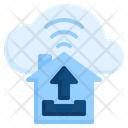 Upload Uploading Cloud Icon