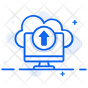 Cloud Upload Online Uploading Data Uploading Icon
