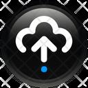 Sign Cloud Arrow Icon