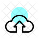 Cloud Weather Storage Icon