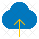 Upload Cloud User Interface Icon