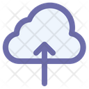 Upload Cloud Technology Icon