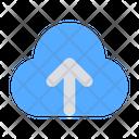 Cloud Up Storage Cloud Icon