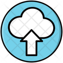 Cloud Upload Storage Icon
