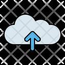 Cloud Upload Send Icon