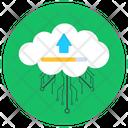 Cloud Upload Cloud Data Send Cloud Hosting Icon