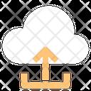 Cloud Upload Cloud Computing Storage Icon