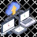 Cloud Data Cloud Upload Data Transfer Icon