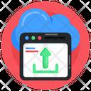 Page Uploading Data Uploading Cloud Upload Icon