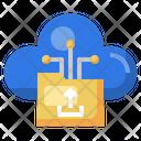 Cloud Upload Cloud Uploading Folder Icon