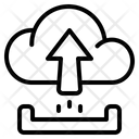 Upload Storage Arrow Icon