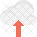Upload Cloud Network Icon