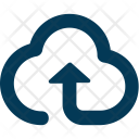 Cloud Upload Data Icon
