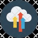 Cloud Upload Uploading Icon