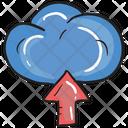 Cloud Uploading Data Uploading Cloud Storage Icon