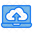 Cloud Web Browser Up Load Icon
