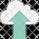 Cloud Uploading Cloud Upload Cloud Technology Icon