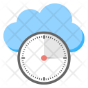 Uptime Cloud Monitoring Icon