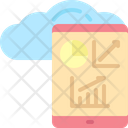 Cloud usage Icon
