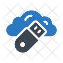 Usb Cloud Storage Icon