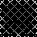 Cloud User Network Computing Icon